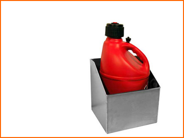 Fuel jug holder